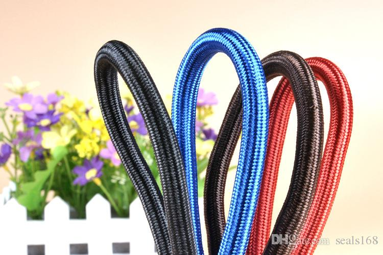 Pet Dog Nylon Rope Training Leash Slip Lead Strap Adjustable Traction Collar Pet Animals Rope Supplies Accessories 0.6*130cm HH7-1173