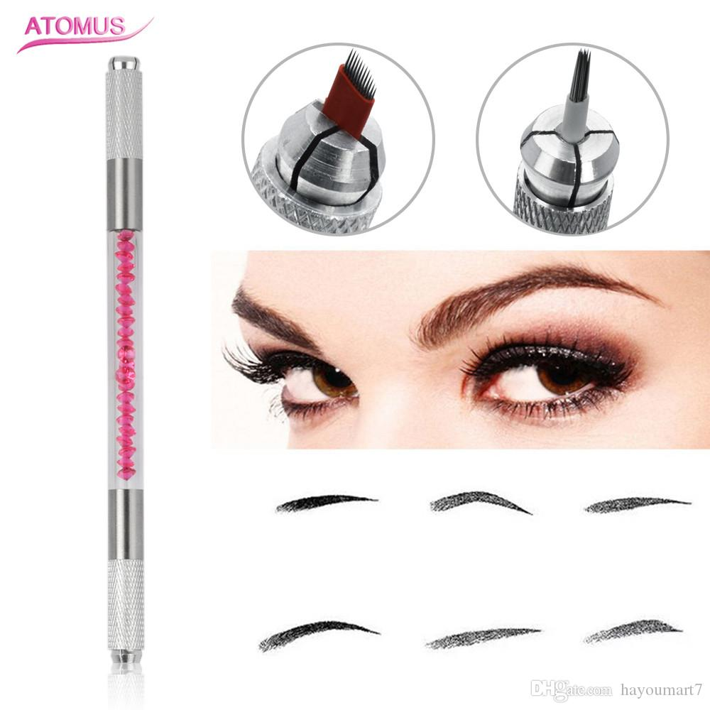 Professional 3D Eyebrow Manual Tattoo Microblading Pen Machines For ...
