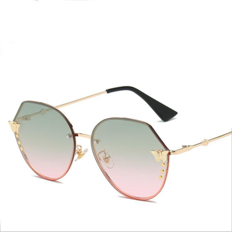 bd2597aac24f2 Brand Designer Luxury Butterfly Sunglasses Women 2018 Cat Eye Fashion  Gradient Mirror Sun Glasses Eyewear Eye Glasse Mens Sunglasses Police  Sunglasses From ...