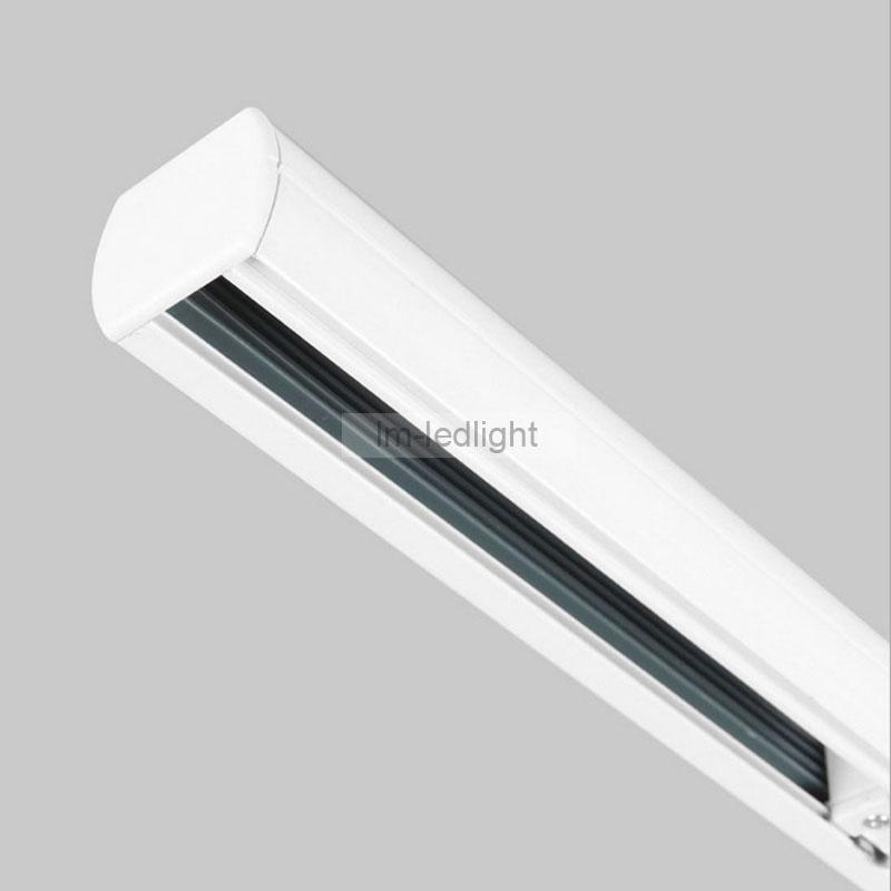 2018 4 wire 3 phase 1 meter led track lighting rail for eu market