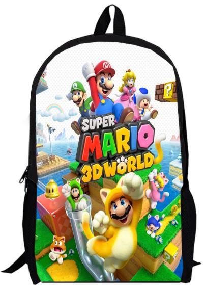 3f94671744 Acquista Zaino Da 15 Pollici Zaino Doppio Strato Personalizzato Anime  Cartoon Scuola Super Mario Bros Ragazzo Borse Da Uomo A $41.22 Dal Keviney  | DHgate.