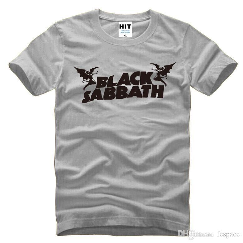 d112f8c20 Wholesale Black Sabbath Classic Heavy Metal Rock Men'S T Shirt T Shirt For  Men 2016 New O Neck Cotton Top Tee Camisetas Hombre Funny Rude T Shirts  Trendy ...