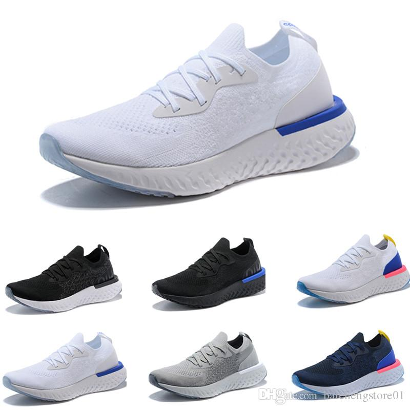 2018 New Epic React Knitting Casual Running Shoes High Elastic Men ... 2f23cc046