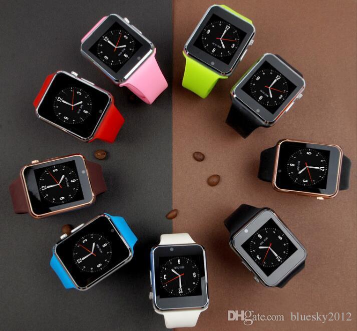 A1 Smartwatch Smart Watches Niedriger Preis Bluetooth Wearable Männer Frauen Smart Watch Mobile mit Kamera für Android Smartphone Smartwatch 2019