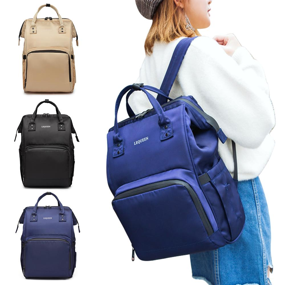f0dce2c84490 Lequeen New Style Mummy Bags Mummy Maternity Nappy Bag Large Capacity  Travel Backpack Baby Care Nursing Baby Stroller Bags