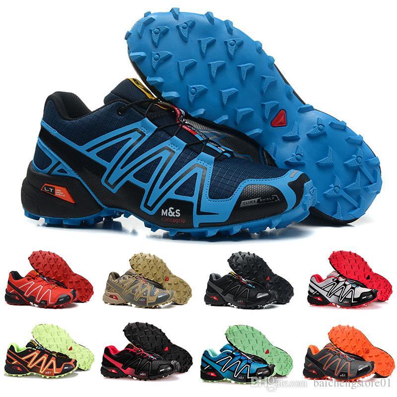 Marke Heißer verkauf Speedcross 3 CS Trail Laufschuhe frauen Leichte Turnschuhe Navy Solomon III Zapatos Wasserdichte Sportschuhe 36