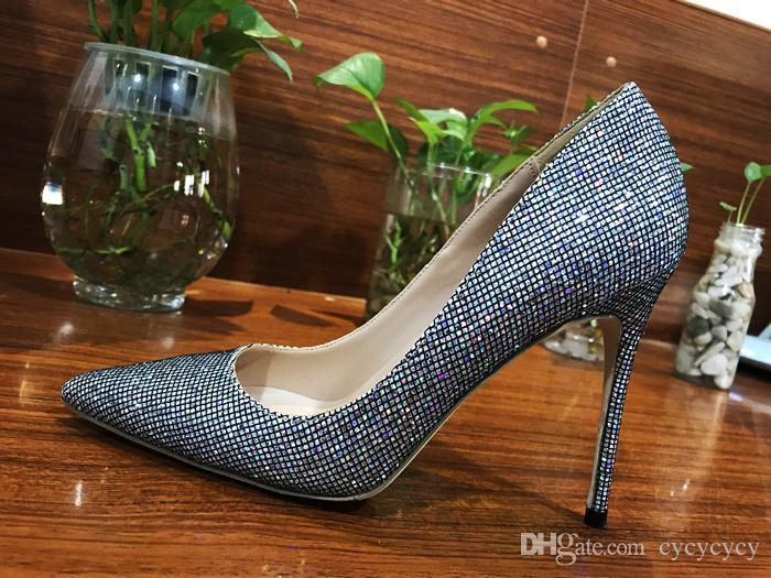 online store 9a385 99f8f Marke Sexy Frauen rot unten Schuhe Pumps Plus Größe 33-44 High Heels  Fashion Hochzeit Schuhe 8 cm / 10 cm / 12 CM Luxus Designer Zapatos Mujer