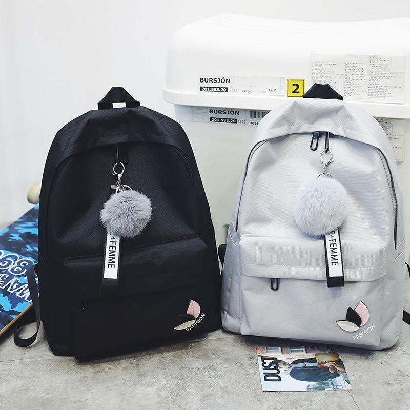 1f2207ba5f6 Fashion Print Letter School Backpack Women School Bag Back Pack Leisure  Korean Ladies Knapsack Laptop Travel Bags For Teenage Rucksack Jansport  Backpacks ...