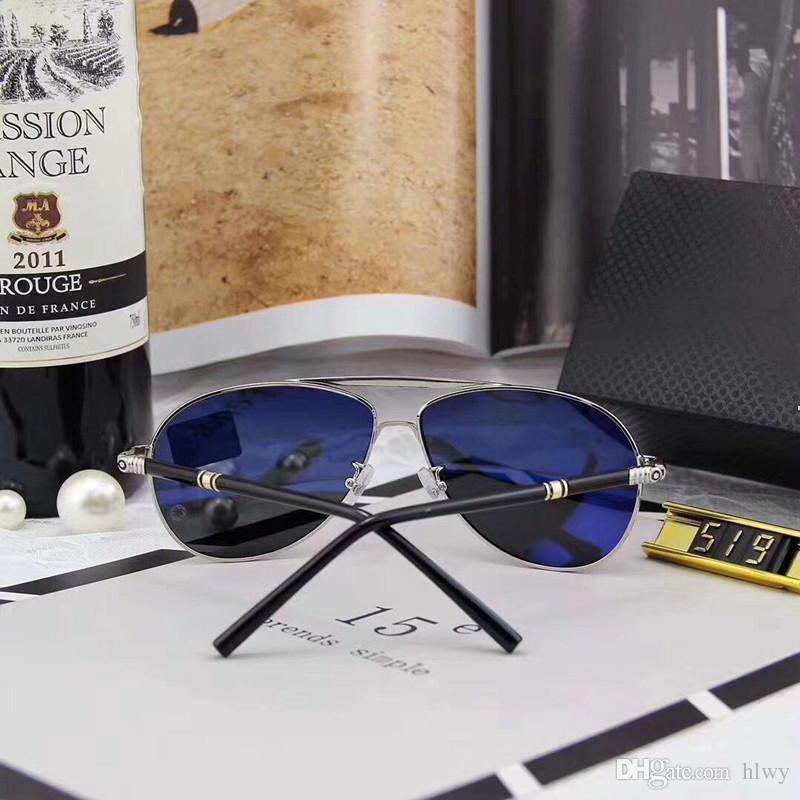Lunettes de soleil MB Hommes Designer pour hommes Lunettes Sunglasses hommes Lunettes de soleil de luxe pour hommes de luxe lunettes de luxe lunettes de soleil 519