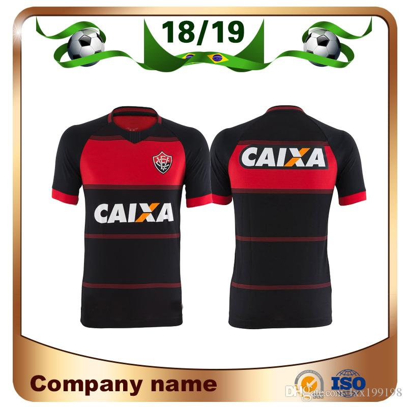 d2ac152f9a Compre 2019 Vitoria Esporte Clube Futebol Jersey Neilton Arouca BOU ANDRE  LIMA Custom Home Preto 18 19 Adulto Vitoria BA Camisa Futebol De Lxx199198