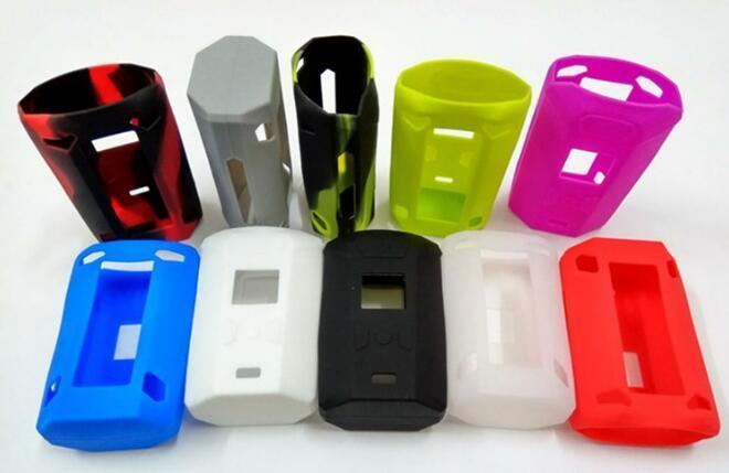 Renkli Silikon Kılıf Cilt Kılıfları Yumuşak Silikon Kol Kapak Cilt Için Vaporesso Switcher Kutusu Mod