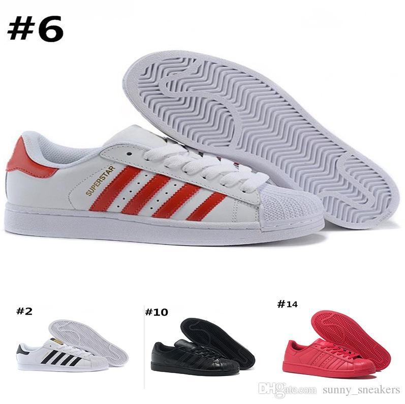 Compre Adidas Superstar 80s Designer Shoes Atacado Sapatos De Grife  Original Branco Holograma Iridescentes Júnior De Ouro Superstars Sapatilhas  Mens Sapatos ... 5db379b55ff