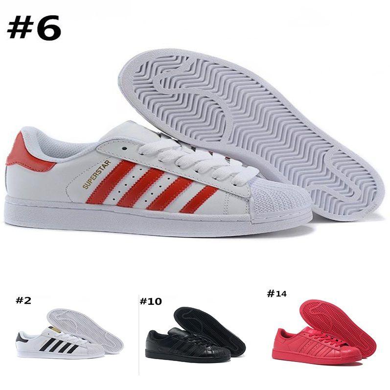 d77149365ca4 Купить Оптом Adidas Superstar 80s Running Shoes Оптовые Оригинальные  Дизайнерские Туфли Белая Голограмма Радужные Младшие Золотые Суперзвезды  Кроссовки ...