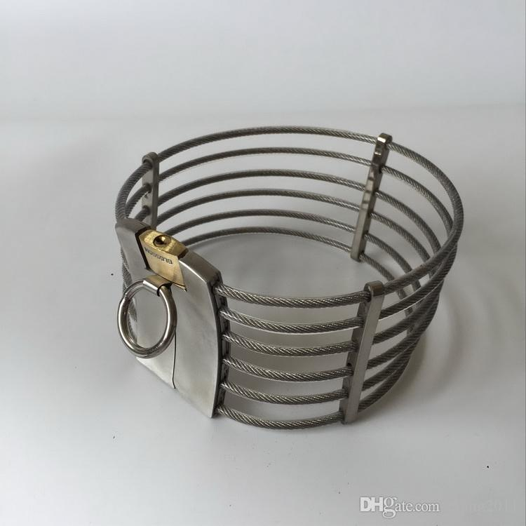2018 bdsm.cercare.Collar.sex toys.sm.Metal collar.Dog slave game.adult toys products