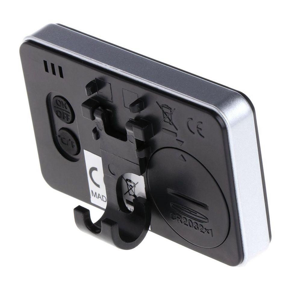 مصغرة lcd ميزان الحرارة الرقمي للماء متر داخلي الإلكترونية أداة متر مع المغناطيس هوك للثلاجة