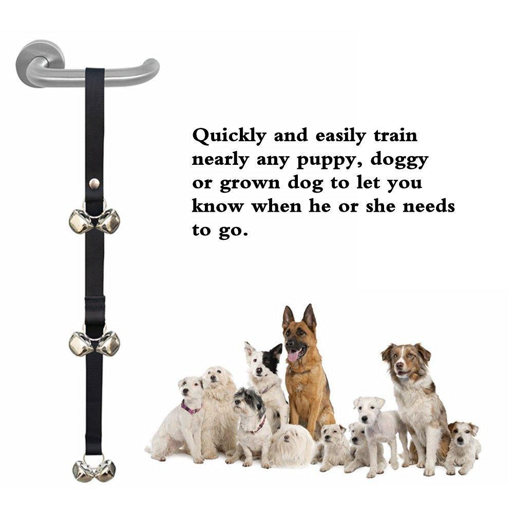 Best Creative Dog Doorbell Hanging Bell Nylon Belt For Pet High