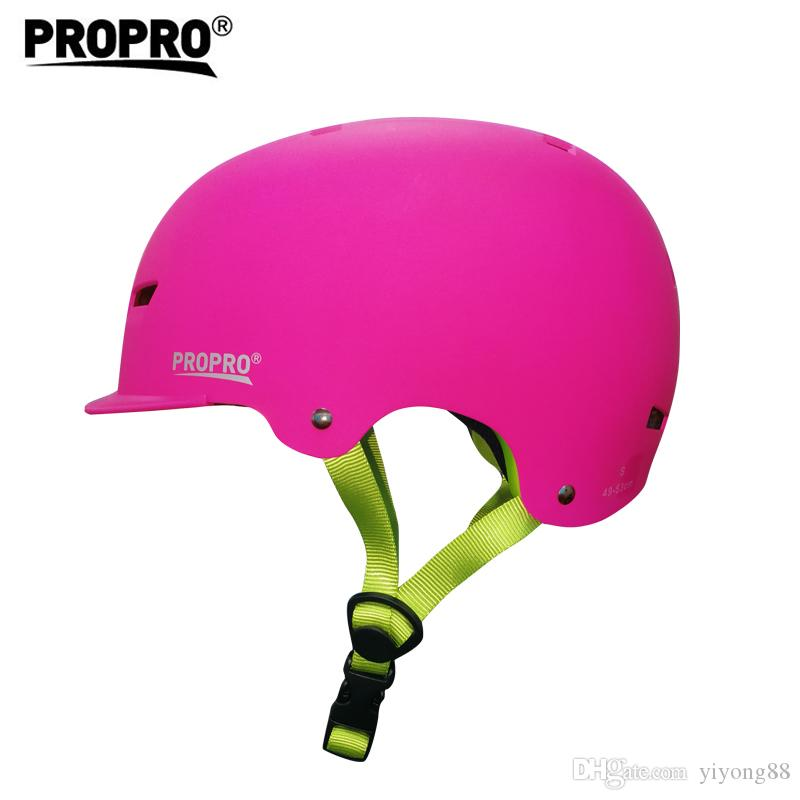 PROPRO Round Mountain Skate Bike Scooter Stunt Skateboard Bicycle Cycling Crash Strong Road MTB Safety Helmet 3 Size,P-H001