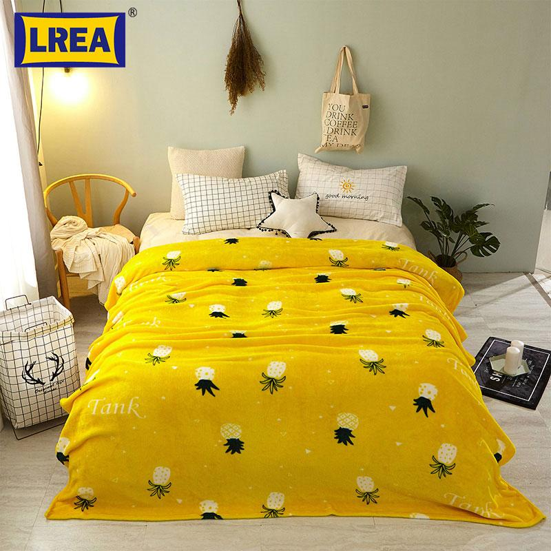 brand yellow microfiber blankets for beds big size blanket sofa