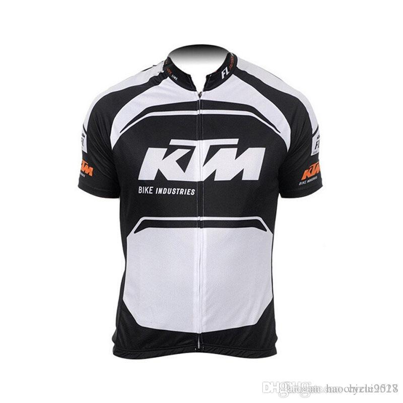 2018 Pro Team New Cycling Jersey KTM Summer Racing Bike Wear Shirt Men  Quick Dry Breathable MTB Bicycle Tops Cycling Clothing Sportswear Mens  Clothing ... fb2968c6a