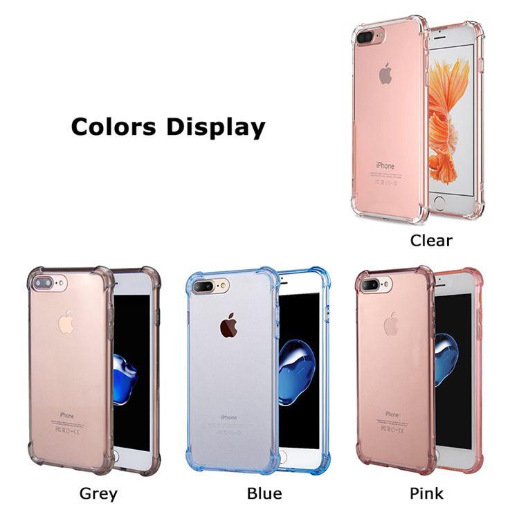 Estuches de alta calidad para 2019 NUEVO iphone 11 X XR XS MAX 8 Estuche Esquinas reforzadas transparentes de TPU Cojín de parachoques Antiarañazos Híbrido Robusto