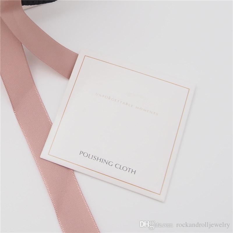 الفضة تلميع القماش للحصول على باندورا 925 سحر فضة الخرزة سوار قلادة الأزياء والمجوهرات منظفات البولندية