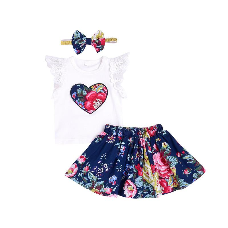 de0f09944f 2019 2018 New Kids Toddler Girl Clothing Set Lace Sleeveless T Shirt Tops  Floral Bottom Shorts Cute Baby Girl Summer Clothes Outfit From Friendhi, ...