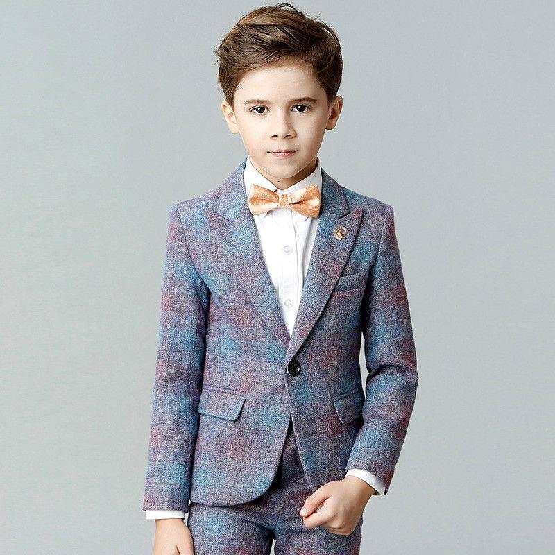 bfdc8a9a8c58a Satın Al Erkek Takım Elbise Performans Kıyafetleri Beyefendi Tarzı Parti  Yemeği Resmi Takım Elbise 3 12 Yıl Çocuklar Için Çocuk Giysileri, $73.22 |  DHgate.