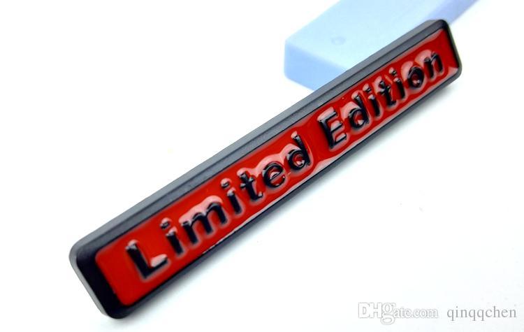 3D Metal Limited Edition Auto Car Sticker Badge Decal Motorcycle Stickers Chrome Emblem for Audi Suzuki Honda Kawasaki HARLEY YAMAHA