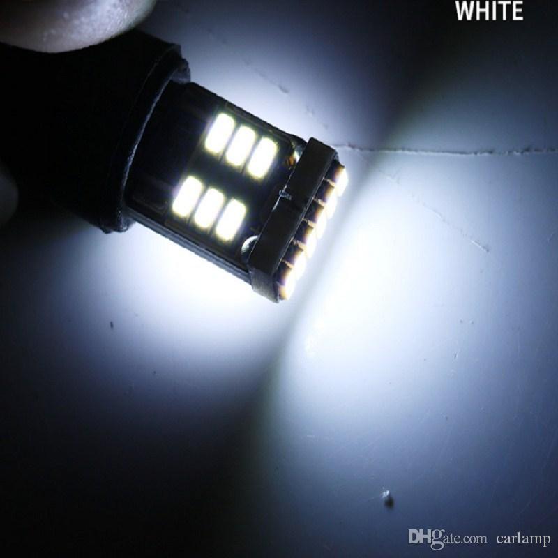T10 W5W led canbus 194 168 3014 t10 18SMD Canbus No Error Car Auto LED Bulb Indicator Light Parking Lamps White light