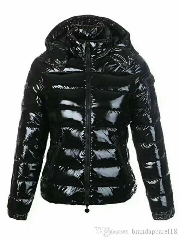 b309179d641 Compre Marca De Moda Para Mujer CHAQUETA ABAJO CAPA CORTA MAYA Prendas De  Abrigo Abajo Chaqueta De Abrigo Mujer Abrigos De Invierno Cinco Colores  Abrigo Con ...