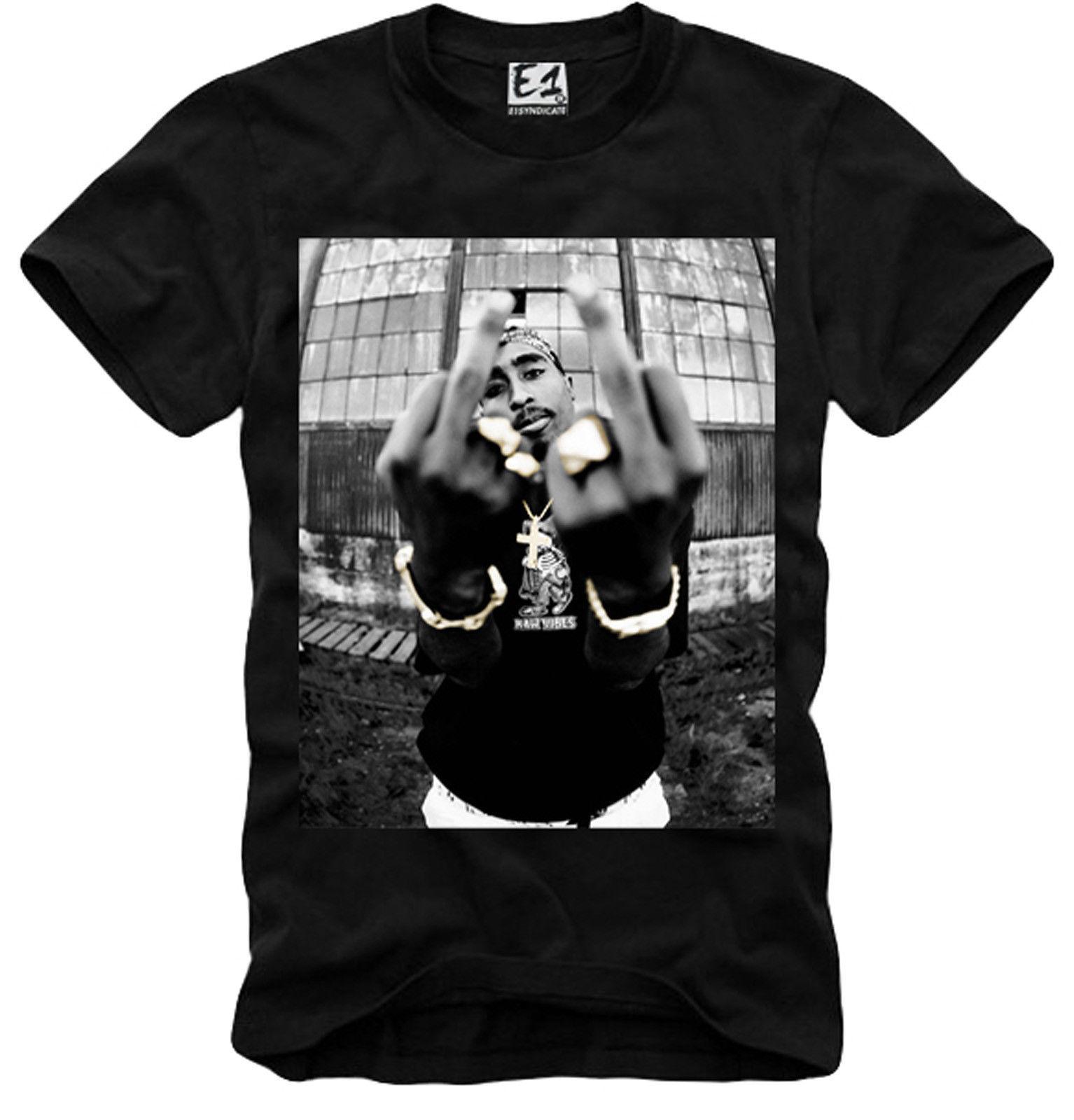 7252065b912a E1SYNDICATE T SHIRT 2PAC TUPAC SHAKUR NWA EAZY E SNOOP BIGGIE 3056b Mens  2018 Fashion Brand T Shirt O Neck 100%cotton T Shirt Short Sleeve Shirt  Novelty T ...