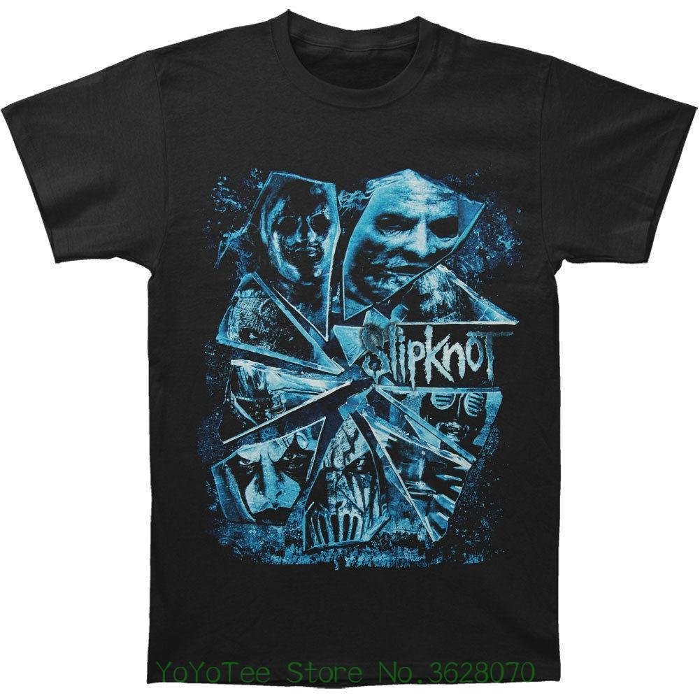 e5a4c97d269aae T Shirt Gift More Size And Colors Slipknot Men    S Shattered Glass 2015  Tour T Shirt Black Cheap Tee Shirts Funny Tees From Amesion2502