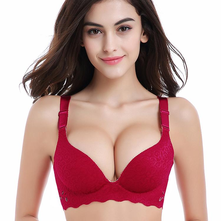 bae4d2790268d Nessayoo Women Push Up Bra Sexy Wireless Women Bralette High Quality Soft  3 4 Cup Large Size Seamless Bras for 2017 Hot Seamless Bra Bras for Women  Push Bra ...