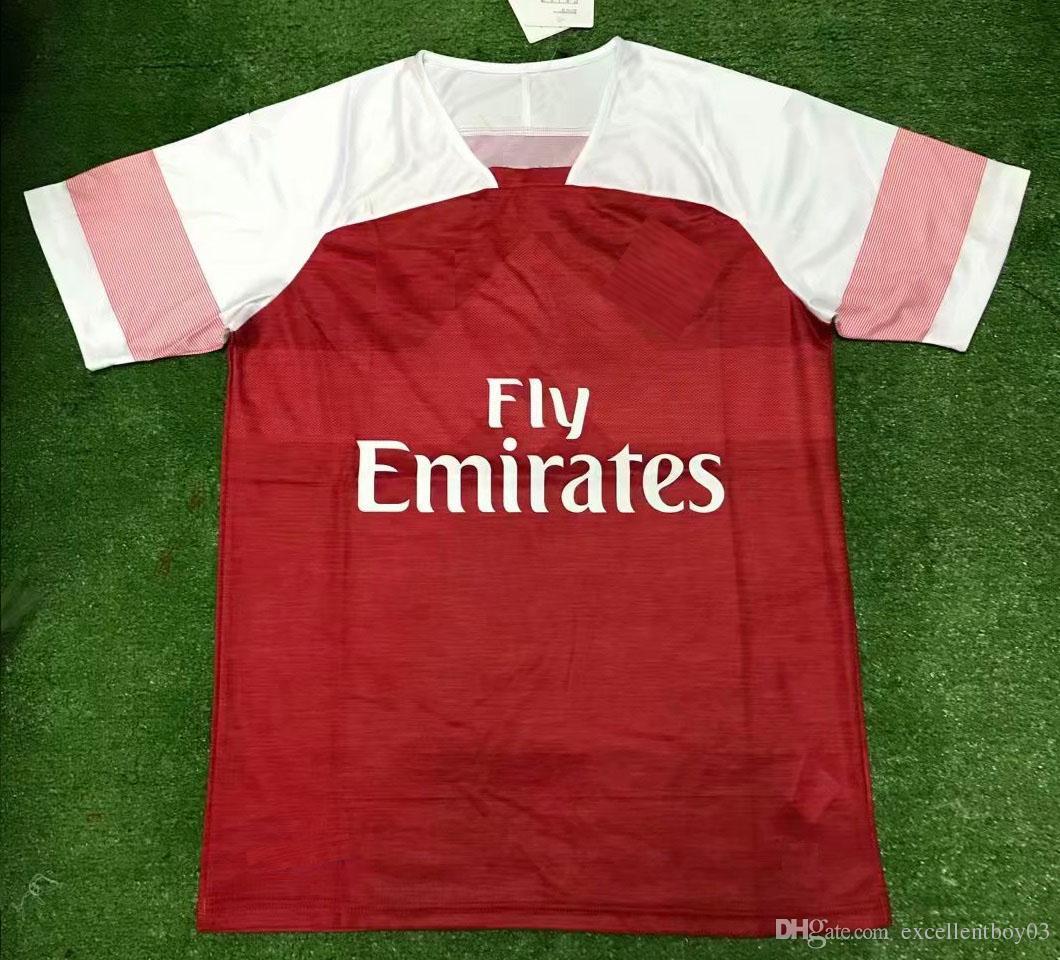 best loved 6e184 dd3f9 S-2XL 18 19 arsenal #10 OZIL arsenal soccer jersey Men's shirt arsenal kids  football uniform A3