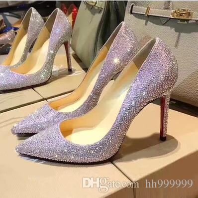 1754deafa4de Sexy Rhinestone High Heels Shoe