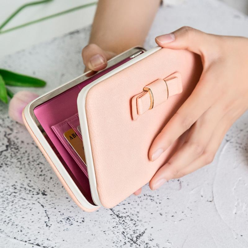 LUKATU Women Wallet New Comes High Capacity Fashion Female Long PU Leather Wallets Zipper Cellphone Pocket Purse Ladies Bags