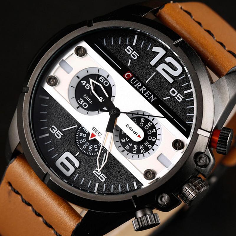 efb8a69b0ac Compre URREN Relógios Homens Marca De Luxo De Alta Qualidade Relógio Homens  Relógio Masculino Esportes De Quartzo Relógio De Pulso Dos Homens Orologio  Uomo ...