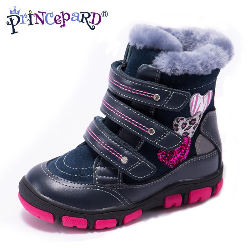cb940a6057f Princepard 2018 Multicolor Winter Orthopedic Boots For Kids 100% Natural  Fur Genuine Leather Orthopedic Shoes Boys Girl 21 36 Kids Runners Kids Gym  Shoes ...