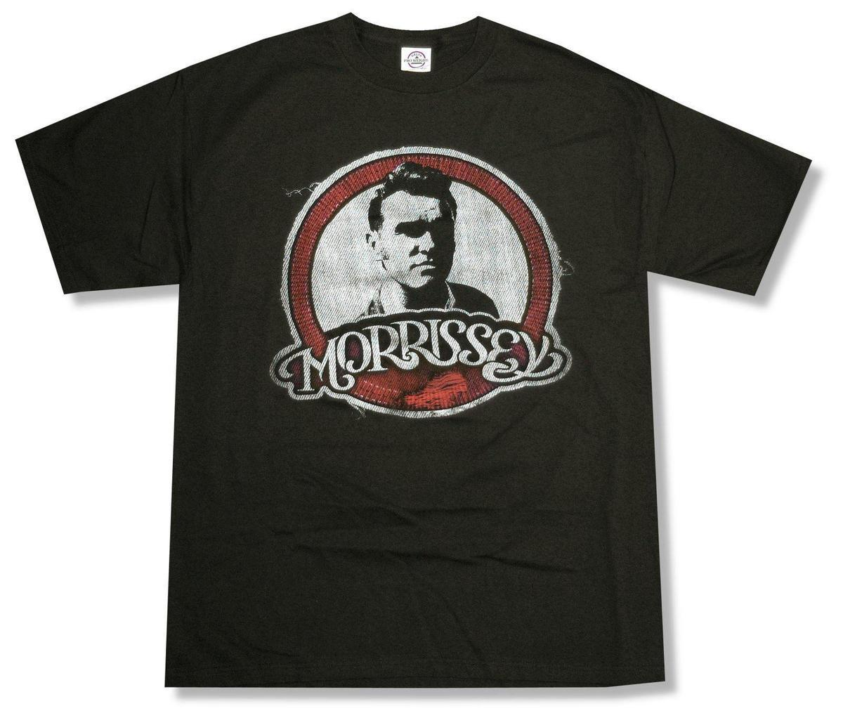 38ce967b7 MORRISSEY PATCH PORTRAIT BLACK T SHIRT NEW OFFICIAL ADULT THE SMITHS  Awesome T Shirts For Guys Cool Tee Shirt Designs From Yubin7, $27.6   DHgate.Com
