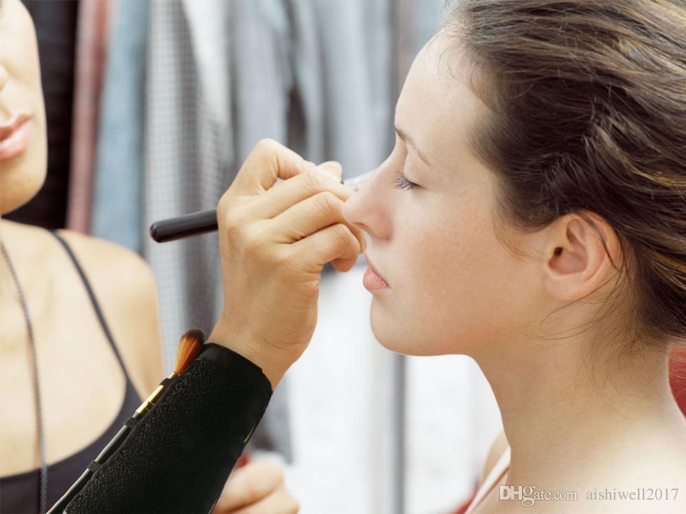 Braccio Trucco Spazzola Cleaner Spugna Remover Colore Spugna Cleaner Brush Strumento Usa l'ombretto polvere Clean Dry Tool
