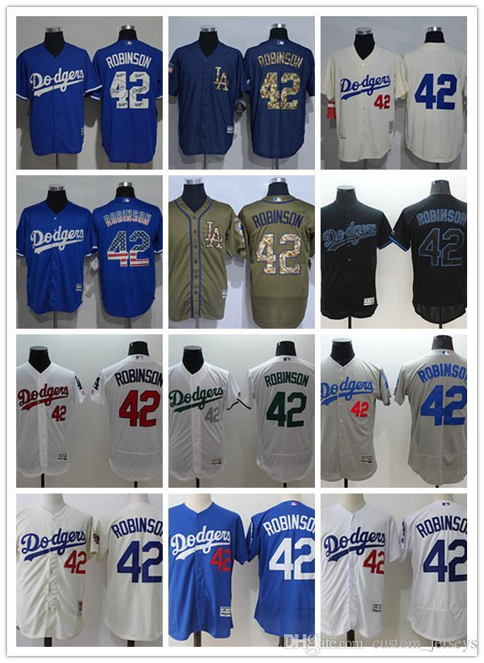 7eec3da7 Custom Men Women Youth Los Angeles Dodgers #42 Jackie Robinson Blue Grey  White Baseball Jerseys Online with $26.79/Piece on Thsvapor's Store |  DHgate.com