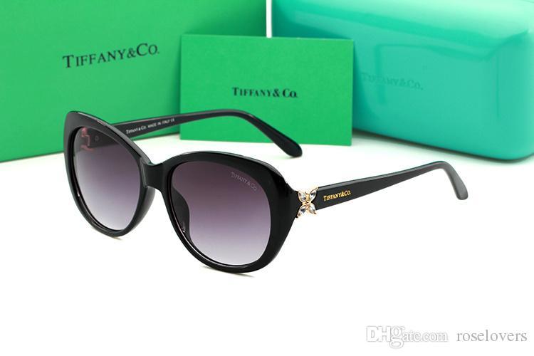 87534d4d4c75d Luxury Tiff Sunglasses for Men Designer Metal Square Polarized ...
