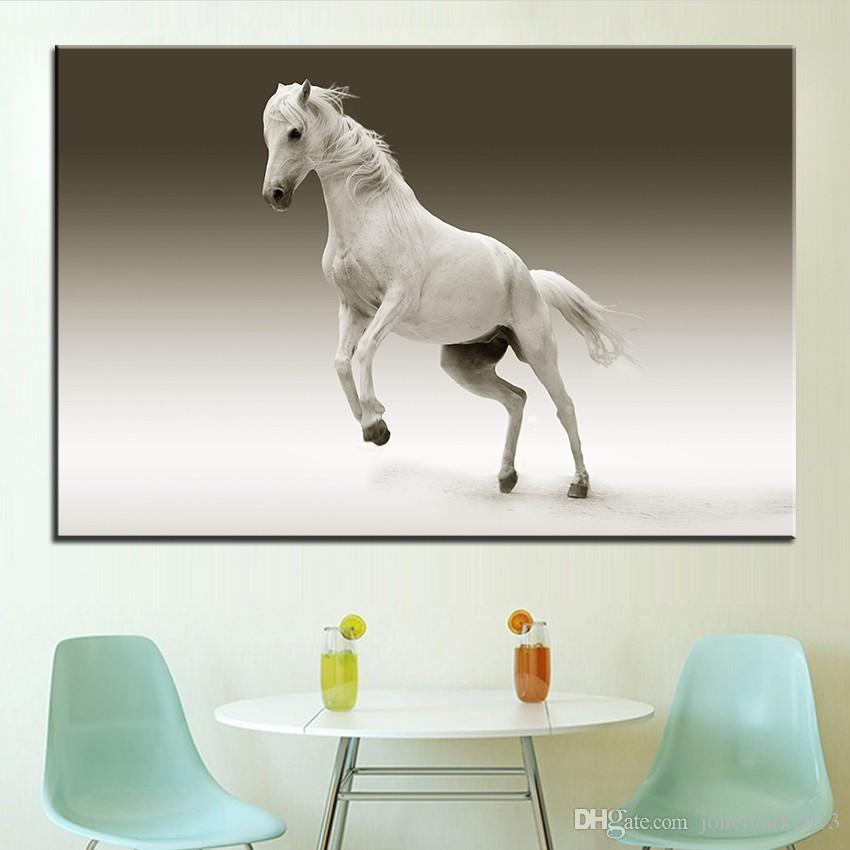 Large size Printing Oil Painting mare nature ride horse Wall painting POP Art Wall Art Picture For Living Room painting No Frame