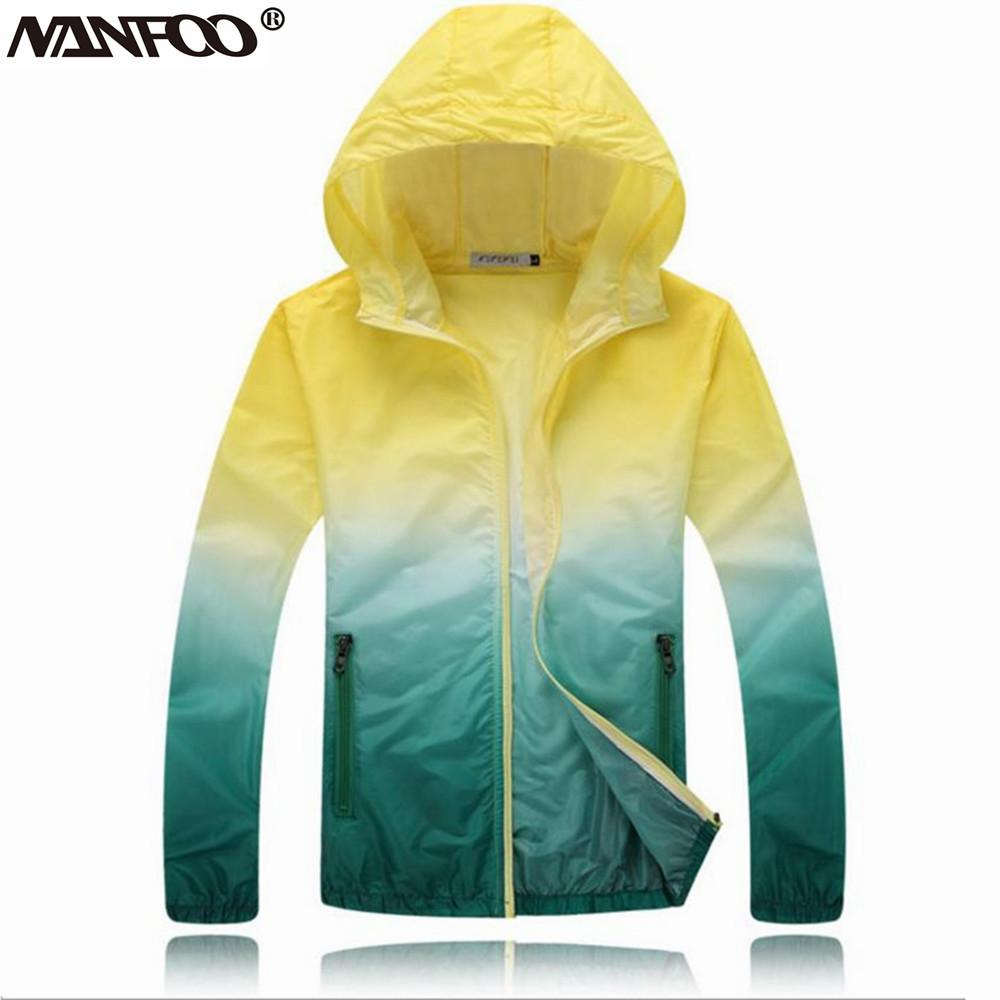 Lovers Ultrathin Outdoor Sports Summer Sun-Protective Hiking Jackets ... da1d091f4
