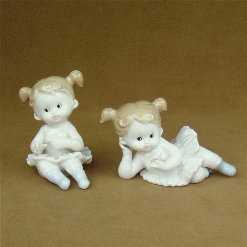 2019 Cute Porcelain Doll Figurine Ceramic Girl Statue Art And Craft