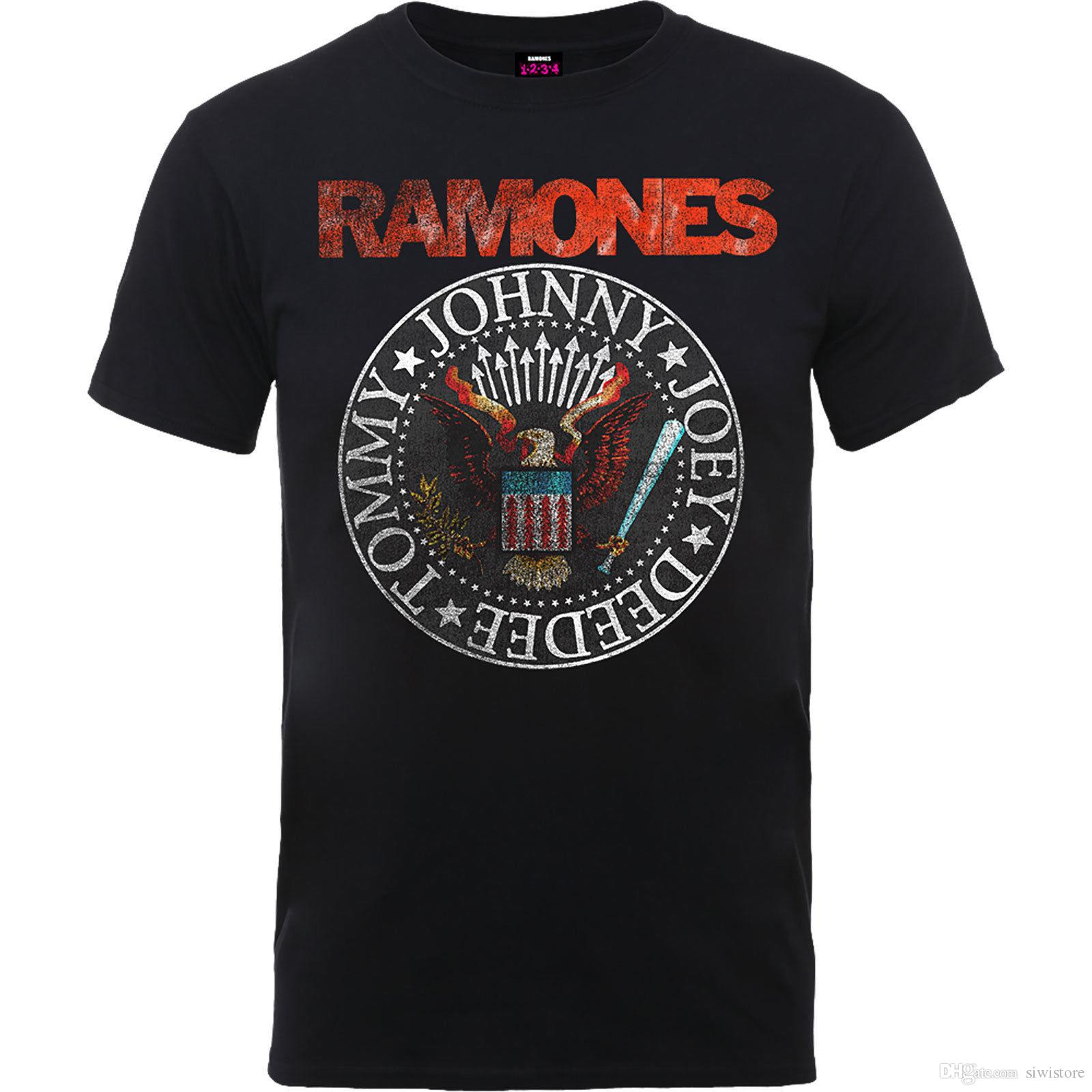 The ramones vintage eagle seal official merchandise shirt neu tee shirts  shirt shirts from siwistore jpg 2bf764febc96
