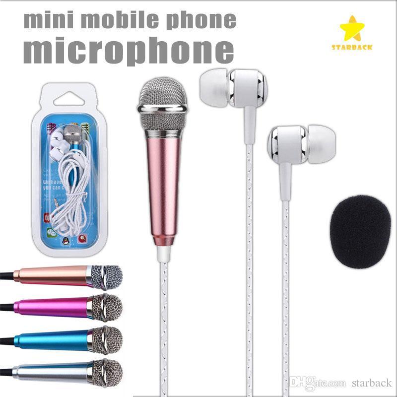 Casque Audio Téléphone 35mm Mini Microphone Avec écouteurs