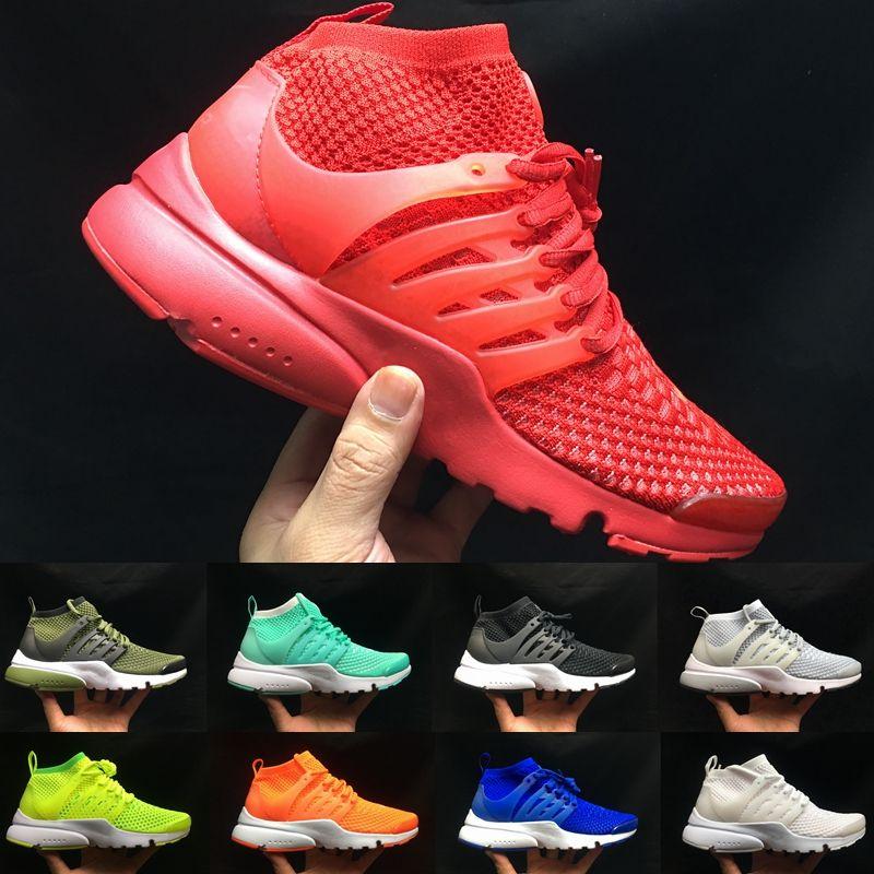 sale retailer 0fe99 98c1b Acquista 2018 New Air Presto Fly 5 Br Qs Ultra Breathe Mens Mid Scarpe Da  Corsa Sneakers Donna Scarpe Sportive Walking Designer Trainers 5.5 11 A   73.87 Dal ...