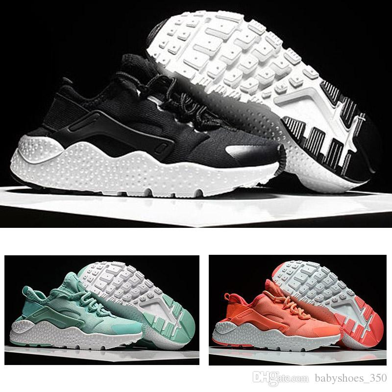 2018 Nike air Huarache 1 3 4 Fashion Flash iluminado Kids Air Huarache niños corriendo zapatos infantiles Huaraches Outdoor Toddler Athletic Boy Girls
