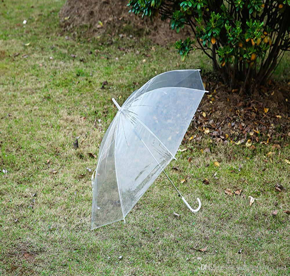 Ombrello trasparente trasparente Ombrello pioggia PVC Cupola antipioggia Ombrellone pioggia Ombrello DDA164